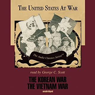 The Korean War and The Vietnam War audiobook cover art