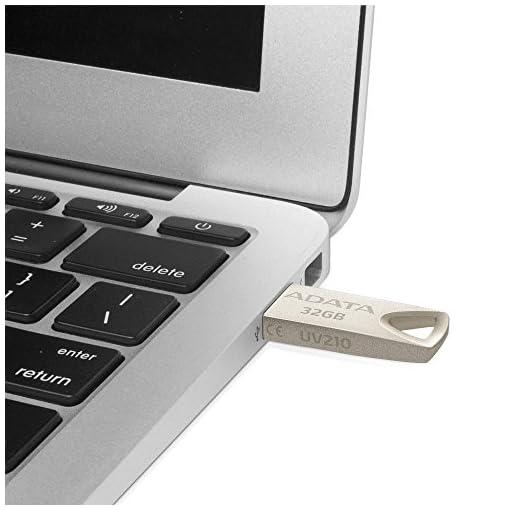 ADATA AUV210-32G-RGD 32GB USB 2.0 Capacity Beige Unidad Flash USB - Memoria USB (32 GB, USB 2.0, USB Type-A Connector… 6