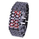 メタルバングルLED腕時計