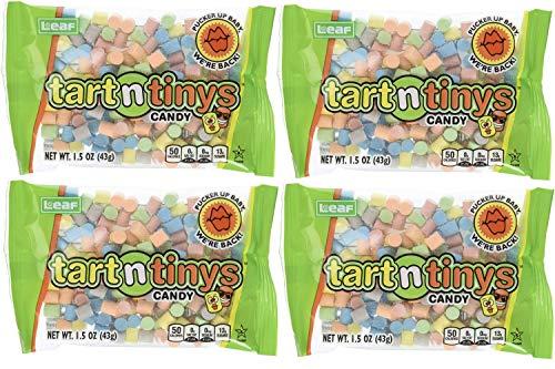 Leaf Brands Tart n Tinys, 1.5 Ounce Packs, Pack of 4
