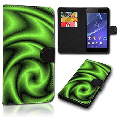 sw-mobile-shop Book Style Huawei Ascend Y330 Tasche Flip Brieftasche Handy Hülle Kartenfächer für Huawei Ascend Y330 - Design Flip SVH138