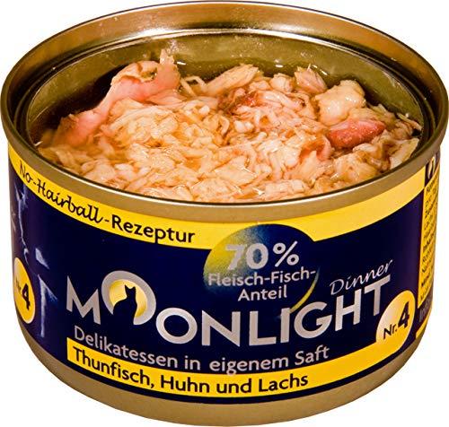 Moonlight-Dinner 24x Nr.:4 Thunfisch, Huhn und Lachs