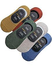 (Lino Ulu) [5足セット] フットカバー メンズ 靴下 スニーカーソックス カバーソックス 無地 リノウルフット