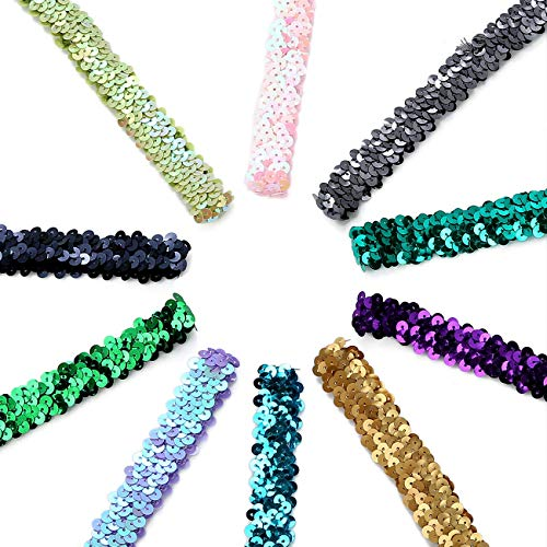 Dress Making Etc Belle Sequin Trim Lace Ribbon For Craft Costume