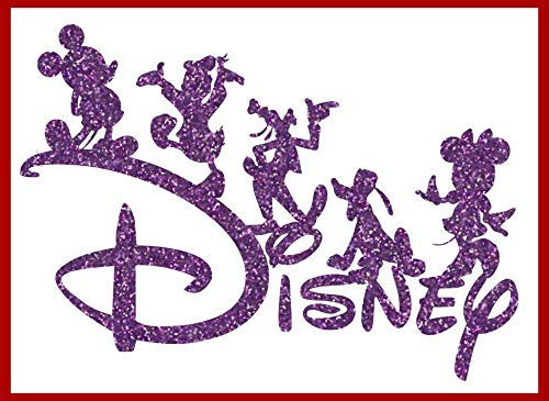 Disney Characters Mickey Minnie Pluto Goofy Donald Iron-On Transfer Image Graphics for T-Shirts, Pillowcases, Bags, Party Favors, DIY Projects
