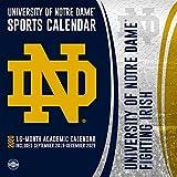 University of Notre Dame Fighting Irish 2020 Calendar