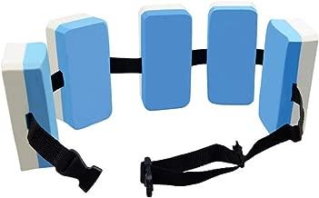 Develoo Swim Belt-EVA Back Float Safety Swim Training Belt with Adjustable Swim Floating Waistband Comfortable Waterproof Floating Device for Kids Adults Swimming Beginners Float