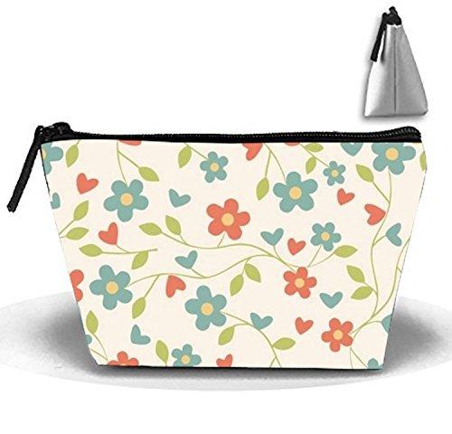 Bolsa de maquillaje portátil para mujer, ideal para viajes y espacio de fantasía