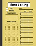 Time Boxing: The Time Box Daily to Do List Notepad – Time Blocking Daily Planner Pad & Day Planner, Hourly Productivity Organizer, Goal and Project ... List - 100 Undated Tear Off Sheets 8.5' x 11'