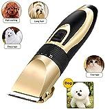 Lanrui Quiet Mascota removedor del Pelo de Perro máquina de Afeitar Recargable del Gato del Perro de Peluche de Pelo eléctrico Fader de Afeitar de la máquina cortadora de Cabello (Color : 24 Teeth)