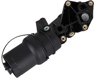 07K115397D Engine Oil Filter Housing w/Gasket Assembly Kit fit for VW New Beetle, Golf Mk6, Jetta Mk5, Jetta Mk6 Rabbit Mk5 2.5L | Audi TTRS Mk 2.5L - Replaces 07K115397A 07K115397B