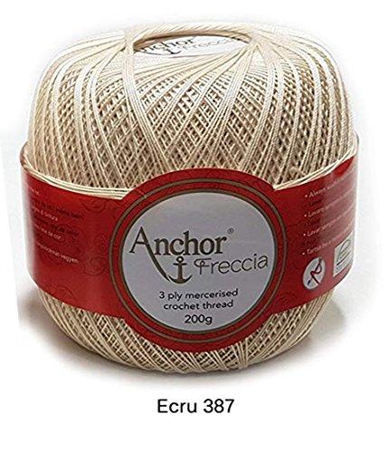 Anchor Freccia - gomitolo gr 200 (N.16 Colore Ecru 387)