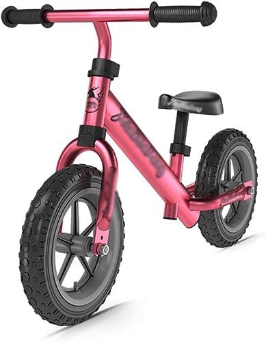 fürr r Laufr r Kinder-Balance verstellbarem Sitz und plattenfreien Reifen, kein Pedal-Push-Trainingsrad, tolles Geschenk für Kinder ab 2 Jahren