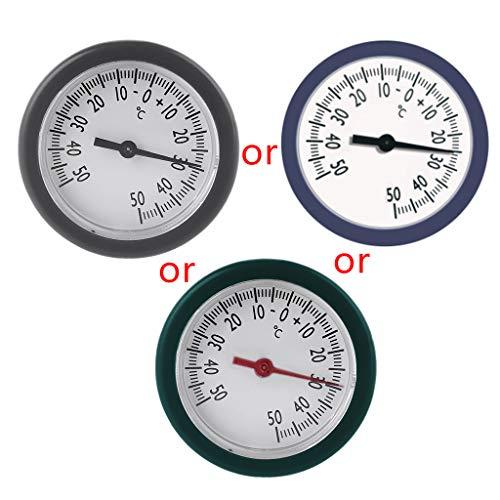 Termómetro de Caja de Bolsa de Equipaje lfdhcn Mini medidor de Temperatura Integrado para Monitor de Almacenamiento