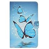 HereMore Galaxy Tab A 10.1 Funda,Carcasa Protección Case para Samsung Galaxy Tab A6 10.1' Tableta SM-T580/T585 con Auto Sueño/Estela, Ranura para Tarjetas y Soporte Función