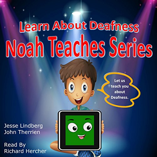Learn About Deafness audiobook cover art