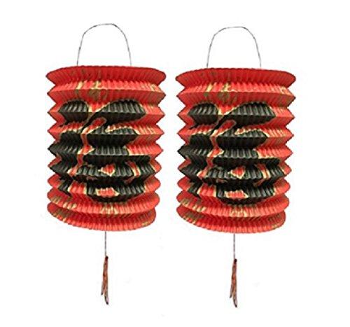 DMtse 15 cm de diámetro, 12 unidades de 12 color rojo a
