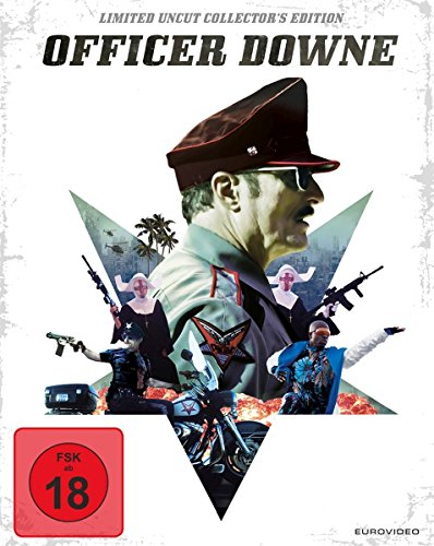 Officer Downe - Seine Stadt. Sein Gesetz. - Uncut/Steelbook [Blu-ray] [Limited Edition]