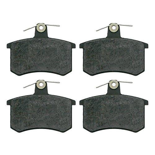 Preisvergleich Produktbild febi bilstein 16142 Bremsbelagsatz (hinten,  4 Bremsbeläge),  ohne Verschleißwarnkontakt