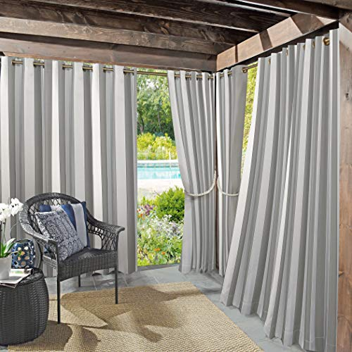 Sun Zero 53087  Valencia UV Protectant Indoor Outdoor Curtain Panel, 54