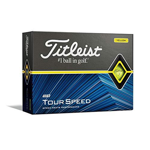Titleist Tour Speed Yellow