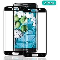 SNUNGPHIR® Cristal Templado Samsung Galaxy S7 Edge Protector Pantalla Samsung S7 Edge Vidrio Cristal Templado Protector Pantalla [9H Dureza] [Alta Definicion] para Samsung Galaxy S7 Edge [2pcs]
