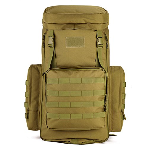 CREATOR 70-85L Large Capacity Tactical Travel Backpack MOLLE Hiking Rucksack Outdoor Travel Bag...