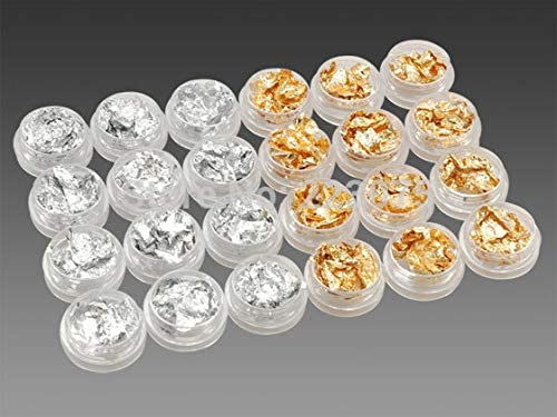 RD-00573 Decor Popular standard Rhinestone Limited Special Price Nail Art Silver 24 Pots Gold