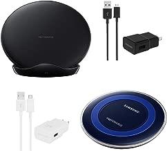 Samsung Wireless Charging Pad Bundle - Includes EP-PN920 & EP-PG950 - Black (Renewed)