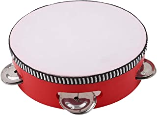 VWH Children's Mini Drums Children of Early Education Musical Instrument Toys for Small Children Beat Instrument,Red