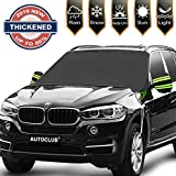 AUTOCLUB Car Windshield Snow Cover,3-Layer Protection&Double Side...