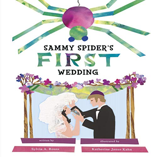 Sammy Spider's First Wedding audiobook cover art