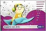 Cuaderno Logica Matematicas infantil 5 años (Primer trimestre): Exploro con Aris (Rumbo Nubaris) - 9788426366771