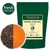 VAHDAM 収穫-インペリアル・ダージリンティー 茶葉(50杯)|限定版マスカテル味- 厳選されたオーガニック茶園で栽培|100%ピュアティー(ブレンドしていない)|3.53oz