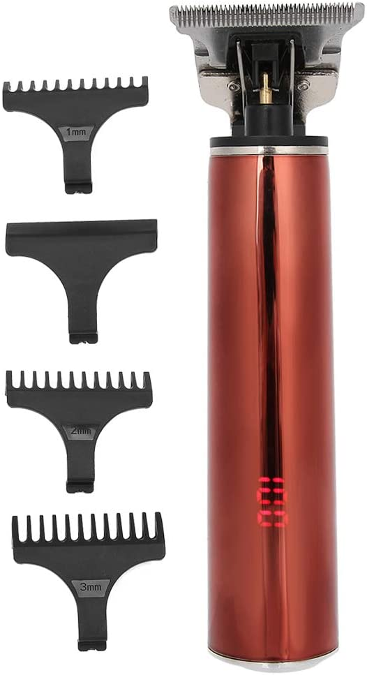 San Jose Mall LCD Display Home Hair Max 68% OFF Waterproof Trimmer Electric E