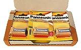 Panasonic POWER LR9V - Pack de 12 pilas alcalinas