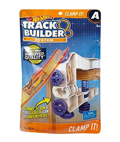 Mattel Hot Wheels Track Builder Zubehör-Klemme