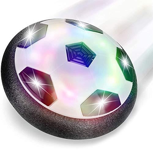 Tll-mm Air Power Fu?bal Hover Ball, Für Kinder Haustiere, Training, Drinnen Und Drau?en, Mit Weichen Schaumstoff-STO?stangen Und Bunten LED-Lichtern