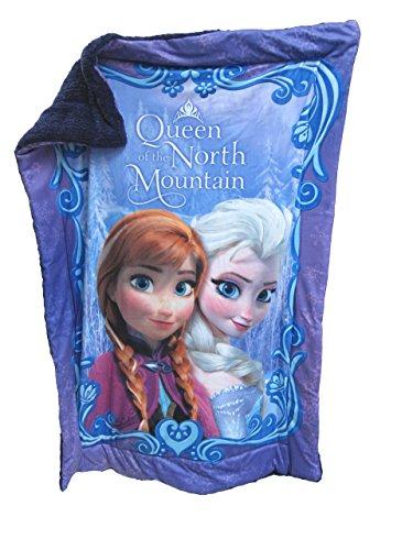 Disney La Reine des Neiges Anna et Elsa Sherpa Couverture « Queen of the North Mountain » 104,1 x 134,6 cm