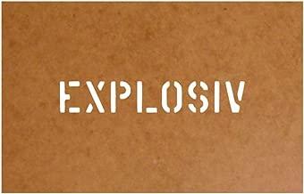 2,5 x 13 cm US army stencil militaire style arm/ée pour m38a1 m1008 hMMWV half track chevrolet gMC ben hur pendentif laquage 15111 /ölkarton pochoir #