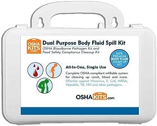OSHA and Food Safety (Norovirus) Biohazard Spill Kit (1 kit)