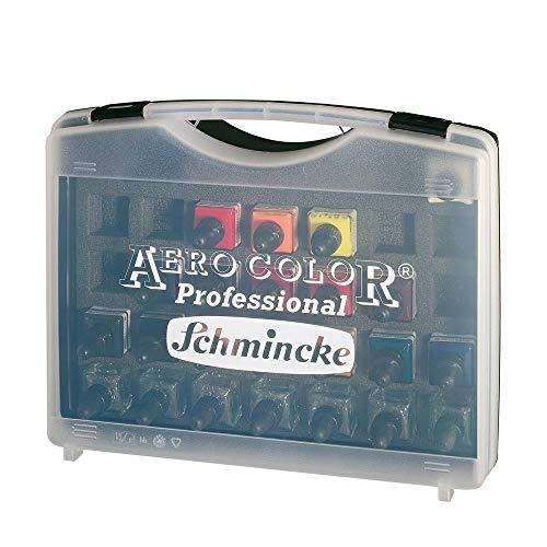 AERO COLOR® Professional Kunststoff-Koffer 16 x 28 ml + 7 Leerflaschen
