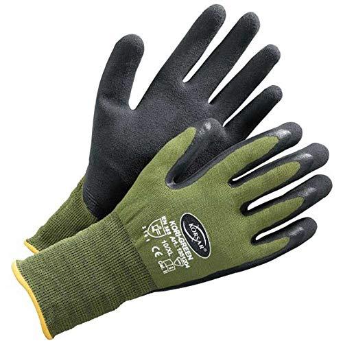 Schutzhandschuh Baugewerbehandschuh Handschuh Kori-Green grün-schwarz - Größe 8