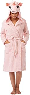 pink flamingo bathrobe