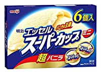 エッセル マルチバックバニラ 90ml×6×8個 【冷凍】(3ケース)