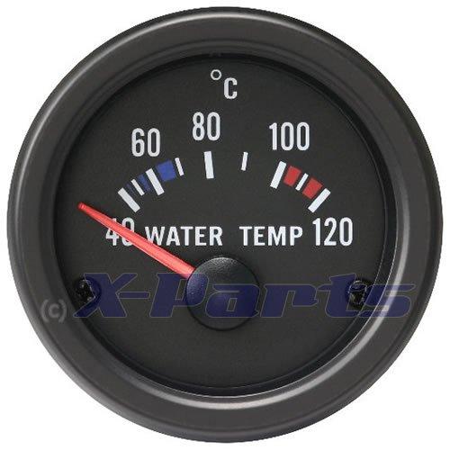 Wassertemperaturanzeige Retro 52mm Oldschool Wassertemp