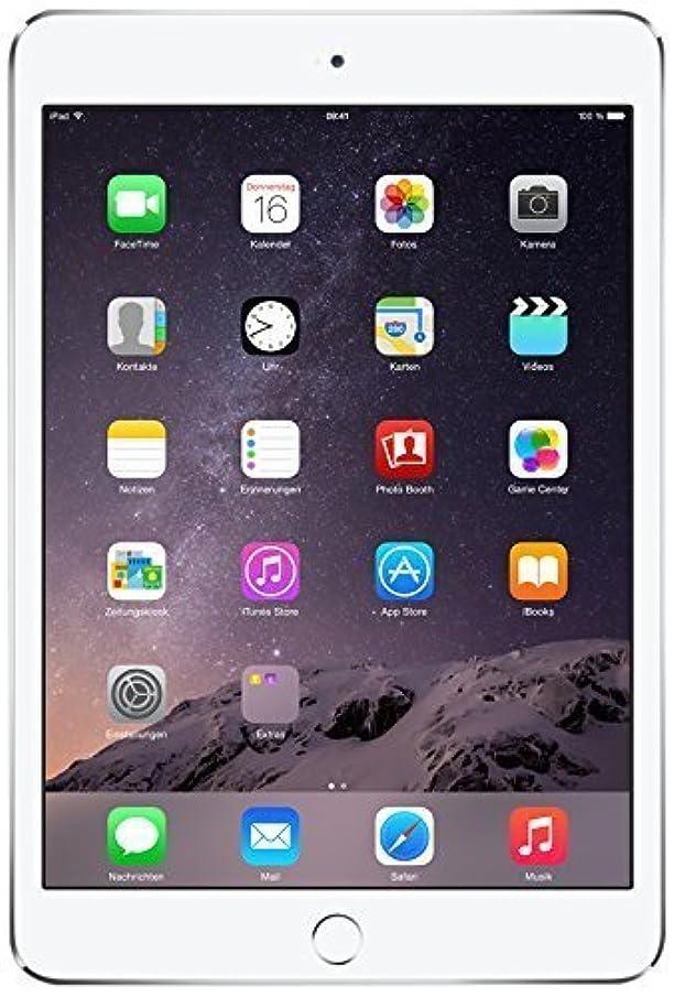 Apple iPad Mini 3 NEWEST VERSION FACTORY UNLOCKED (16GB, Silver/White, Wi-Fi+4G) (Renewed)