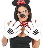 FIESTAS GUIRCA Las Manos de Mickey o Minnie Peluche Guantes para Mascota