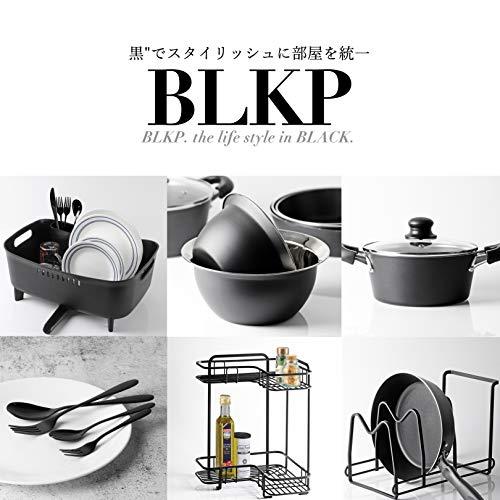 【BLKP】 パール金属 デザート スプーン 2本セット 限定 ブラック チタン メッキ 加工 BLKP 黒 AZ-5031