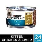 Purina Pro Plan Kitten Canned Wet Cat Food